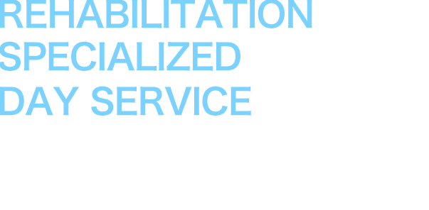 REHABILITATION SPECIALIZED DAY SERVICE LAUNCH 2017
